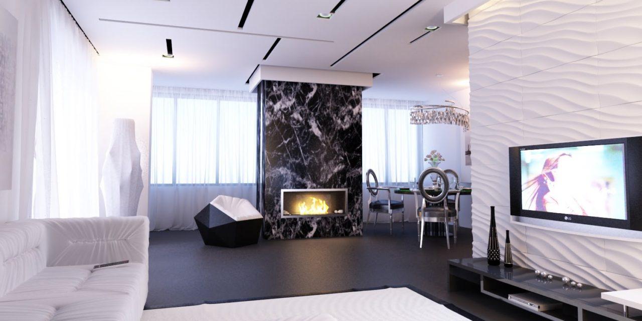 Варианты разных способов разработки дизайна интерьера квартиры